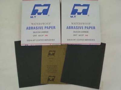 MT kraft waterproof abrasive paper