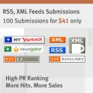 RSS Submissions - A effective emarketing tool @$38.95-5% OFF