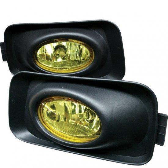 Spyder: 03-05 Acura TSX, Fog Lights (Yellow)