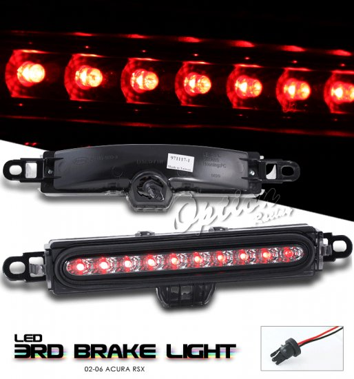 Option: 02-04 Acura RSX LED 3rd Brake Light (Smoked)