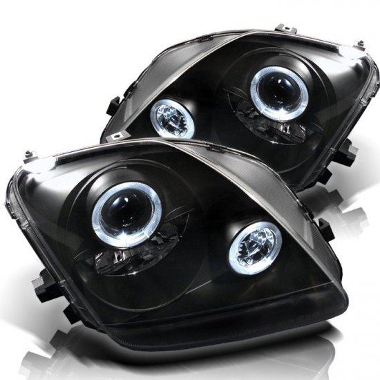 Spyder: 97-01 Honda Prelude, Projector Headlights (Black)