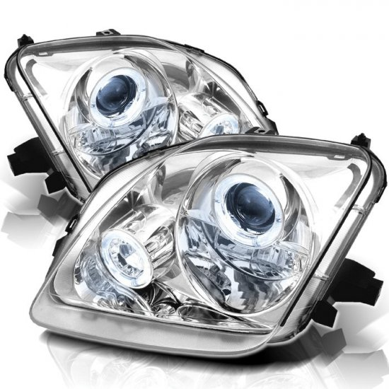 Spyder: 97-01 Honda Prelude, Projector Headlights (Chrome)