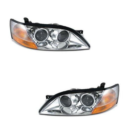 92-96 Lexus ES300 Projector Headlights (Chrome)