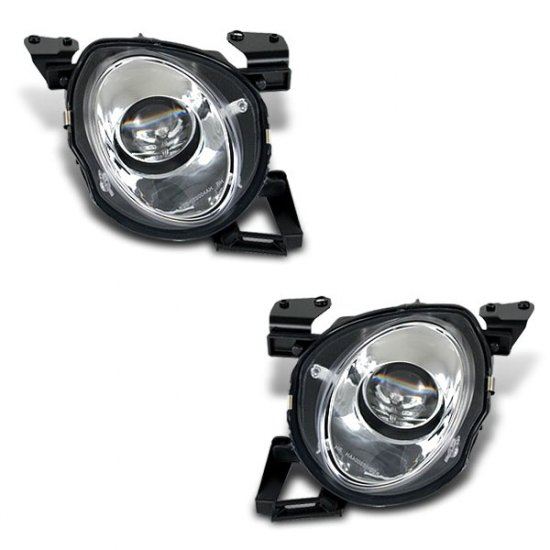 91-00 Lexus SC300 SC400 / Projector Headlights, High (Chrome)