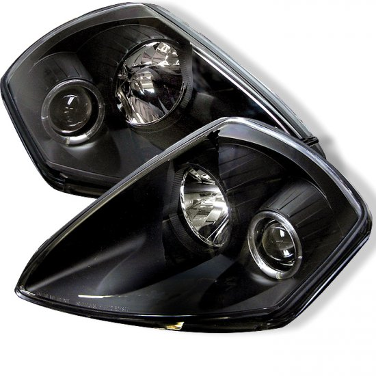 Spyder: 00-05 Mitsubishi Eclipse Projector Headlights (Black)
