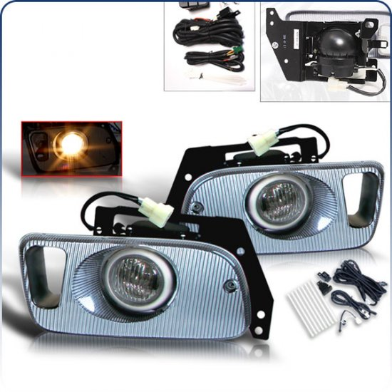92-95 Honda Civic 2Dr / 3Dr, Fog Lights (Clear)