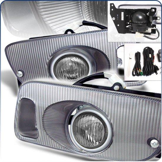 92-95 Honda Civic 2Dr / 3Dr, Fog Lights (Smoked)