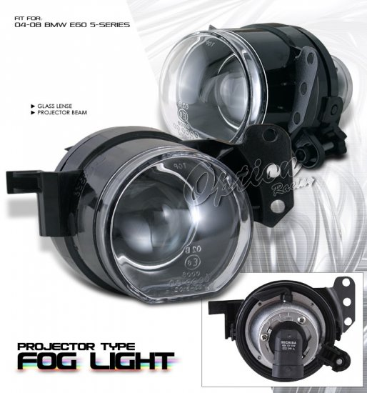 Option: 03-06 BMW 5-Series E60, Fog Lights (Projector)