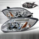Spec-D: 06-08 Mitsubishi Eclipse Projector Headlights (Chrome)