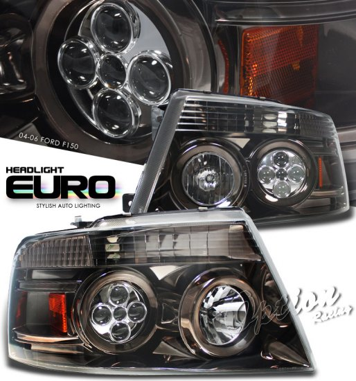 04-08 Ford F150, Projector Headlights, Titanium