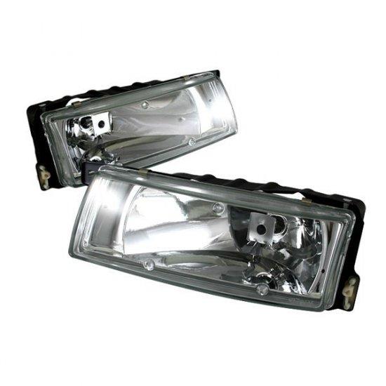 89-94 Nissan Maxima, Crystal Headlights (Chrome)