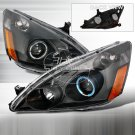 Spec-D: 03-07 Honda Accord, Projector Headlights, Black