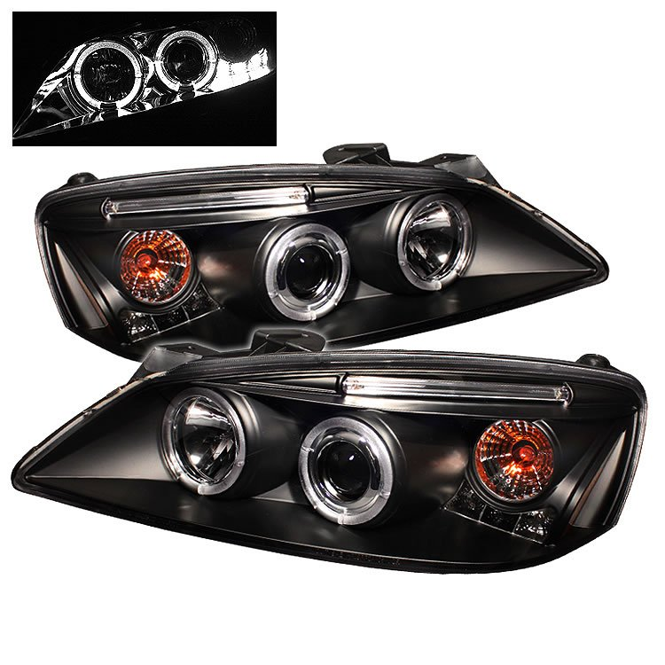Spyder: 05-08 Pontiac G6, Projector Headlights, Black
