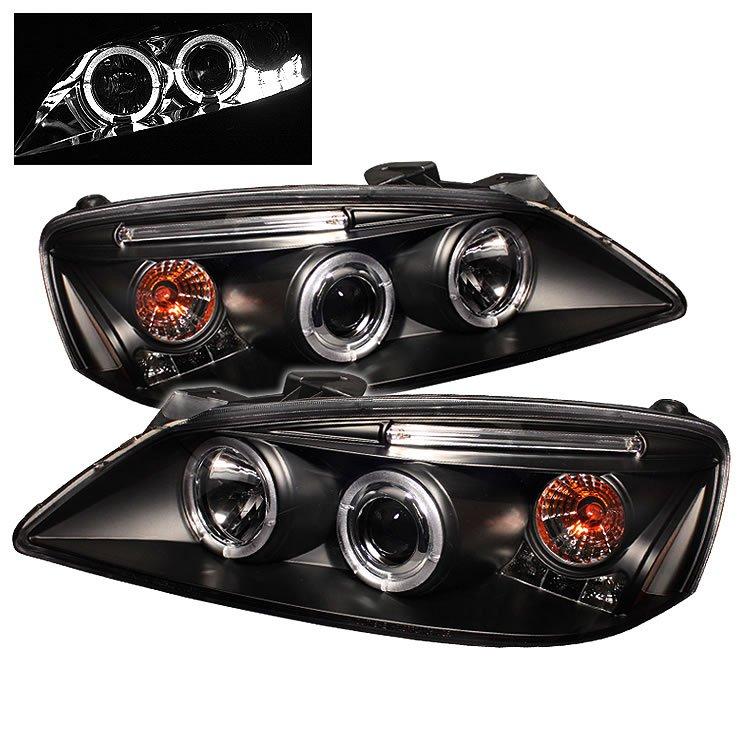 Spyder: 05-08 Pontiac G6, Projector Headlights, Black