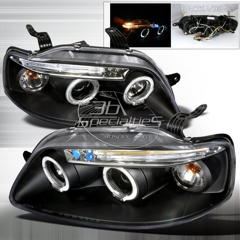 Spec-D: 04-08 Chevy Aveo 5Dr, Projector Headlights, Black