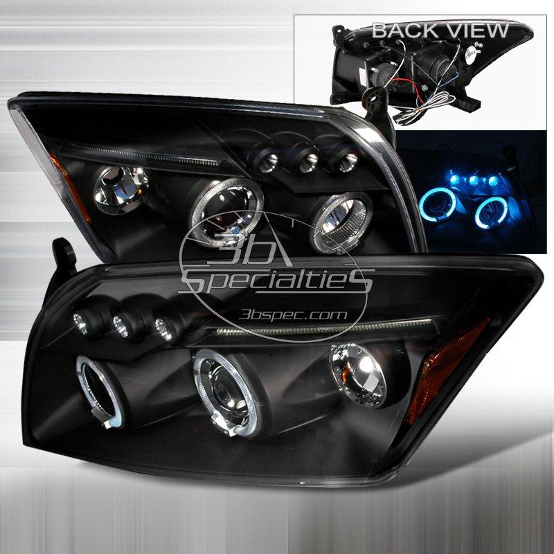 Spec-D: 06-10 Dodge Caliber; Projector Headlights, Black