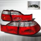 Spec-D: 98-00 Honda Accord 4Dr, Altezza Tail Lights, Red