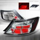 Spec-D: 06-10 Honda Civic 2-Dr, LED Tail Lights, Black