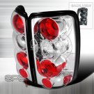 Spec-D: 00-06 GMC Yukon / Yukon Denali, Euro / Altezza Tail Lights, Chrome