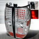 Spec-D: 07-10 Chevy Suburban / Tahoe, LED Tail Lights, Chrome