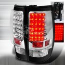 Spec-D: 07-11 GMC Yukon / Yukon Denali, LED Tail Lights, Black