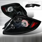 Spec-D: 06-08 Mitsubishi Eclipse, LED Tail Lights, Black