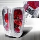 Spec-D: 92-96 Ford F150, Euro / Altezza Tail Lights, Chrome