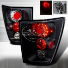 Spec-D: 05-06 Jeep Grand Cherokee, LED Tail Lights, Black