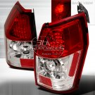 Spec-D: 05-08 Dodge Magnum, LED Tail Lights, Red