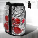 Spec-D: 03-06 GMC Sierra, Euro / Altezza Tail Lights, Chrome
