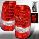 Spec-D: 03-06 GMC Sierra, LED Tail Lights, Red