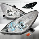 Spec-D: 05-06 Lexus ES300; Projector Headlights CCFL, Chrome