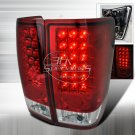 Spec-D: 04-11 Nissan Titan, LED Tail Lights, Red