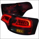 Spec-D: 05-08 Audi A4, LED Tail Lights, Smoked