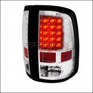 Spec-D: 09-12 Dodge Ram, LED Tail Lights, Chrome