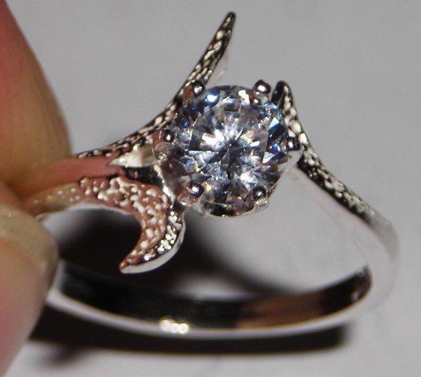 CZ Tri-Deco Ring