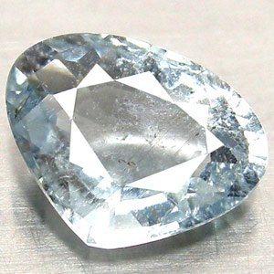 Light Grayish Blue Tourmaline