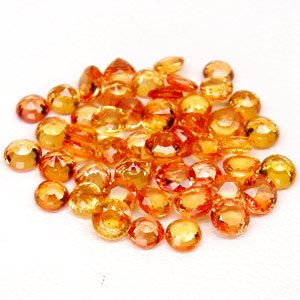 Orange Sapphires