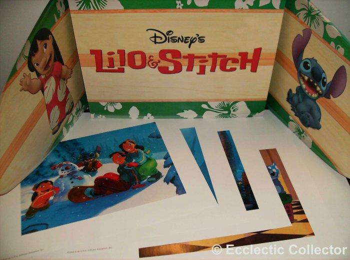 Disney�s Lilo and Stitch Disney Store Lithograph Set