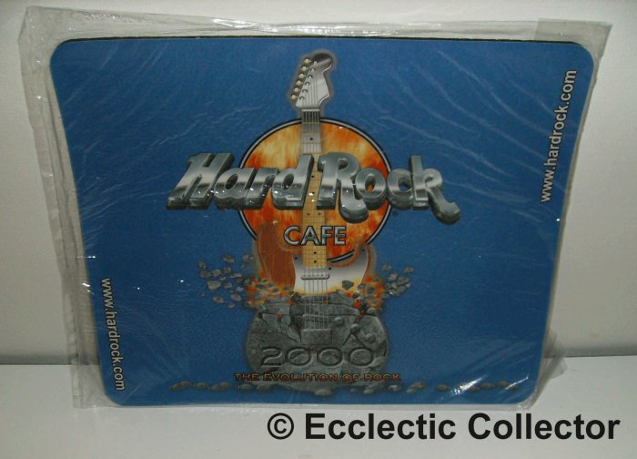 Hard Rock Cafe Millennium mouse pad year 2000