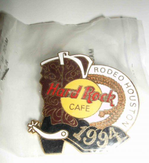 Hard Rock Café 1994 Houston Rodeo boot LE pin