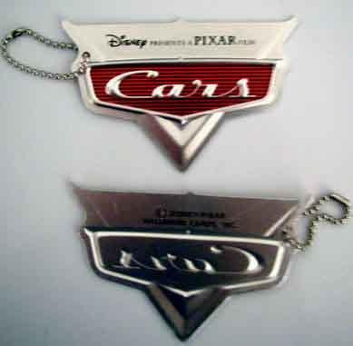 Disney Pixar Cars Movie Logo Metal Key Chain from Hallmark