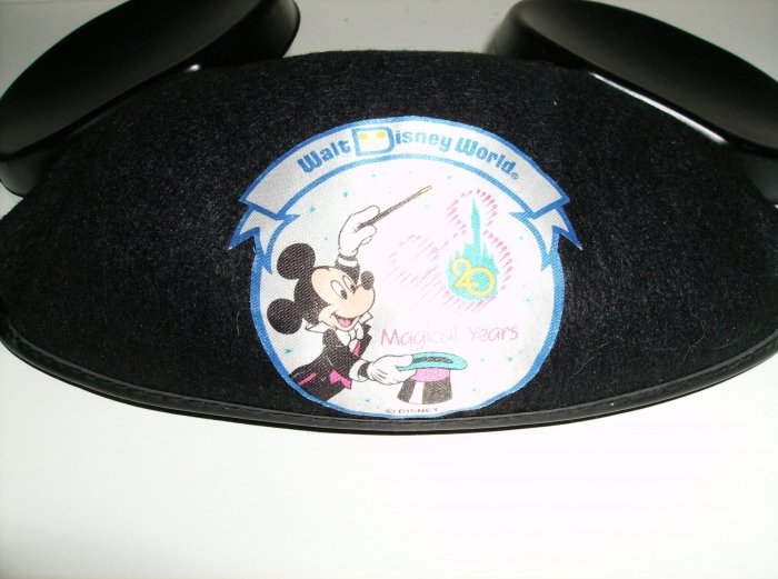 Walt Disney World 20th Anniversary Mouse Ears