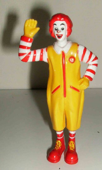 Ronald McDonald PVC figure