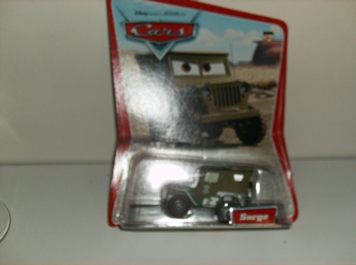 Disney Pixar Cars Movie Original Sarge in Desert Package