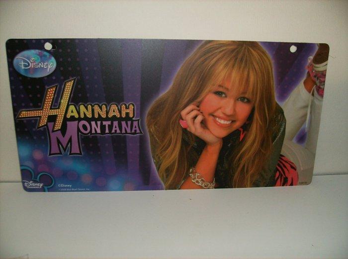 Disney Hannah Montana Display Sign Very Limited