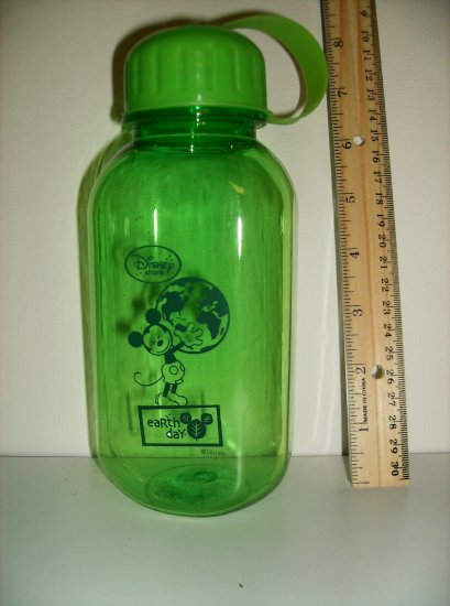 2009 Mickey Mouse Earth Day Green Bottle