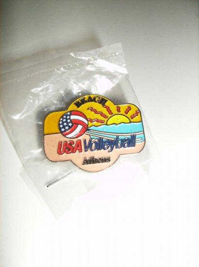 May-Walsh USA Olympic Beach volleyball Atlanta 1996 Pin