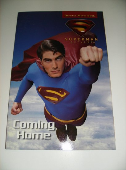 Superman Returns Official Movie Book DC & WB