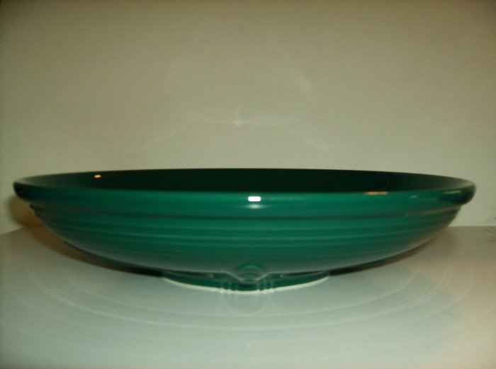 * New *  2007 Fiesta Ware Evergreen Presentation Bowl Macy's Exclusive